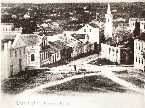 Praça Garibaldi antigamente
