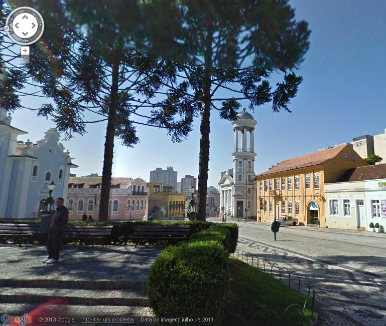 visão panoramica google